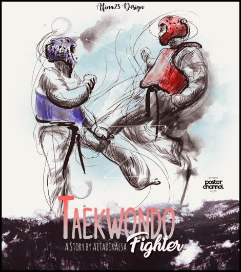 poster-taekwondo-fighter